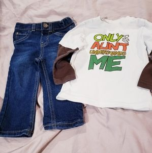6FOR$15 Okie Dokie Matching Outfit